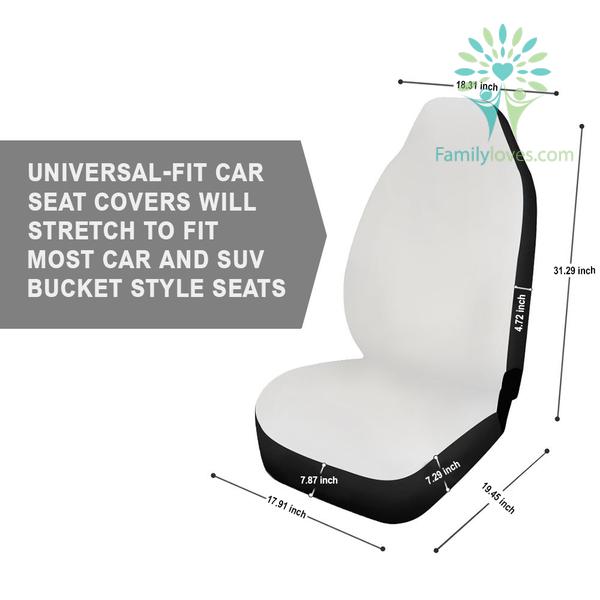 Native Seven Teachings Car Seat Cover Familyloves.com