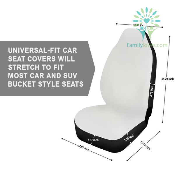 We were not poor people we were happy with what the had... car seat cover Familyloves.com