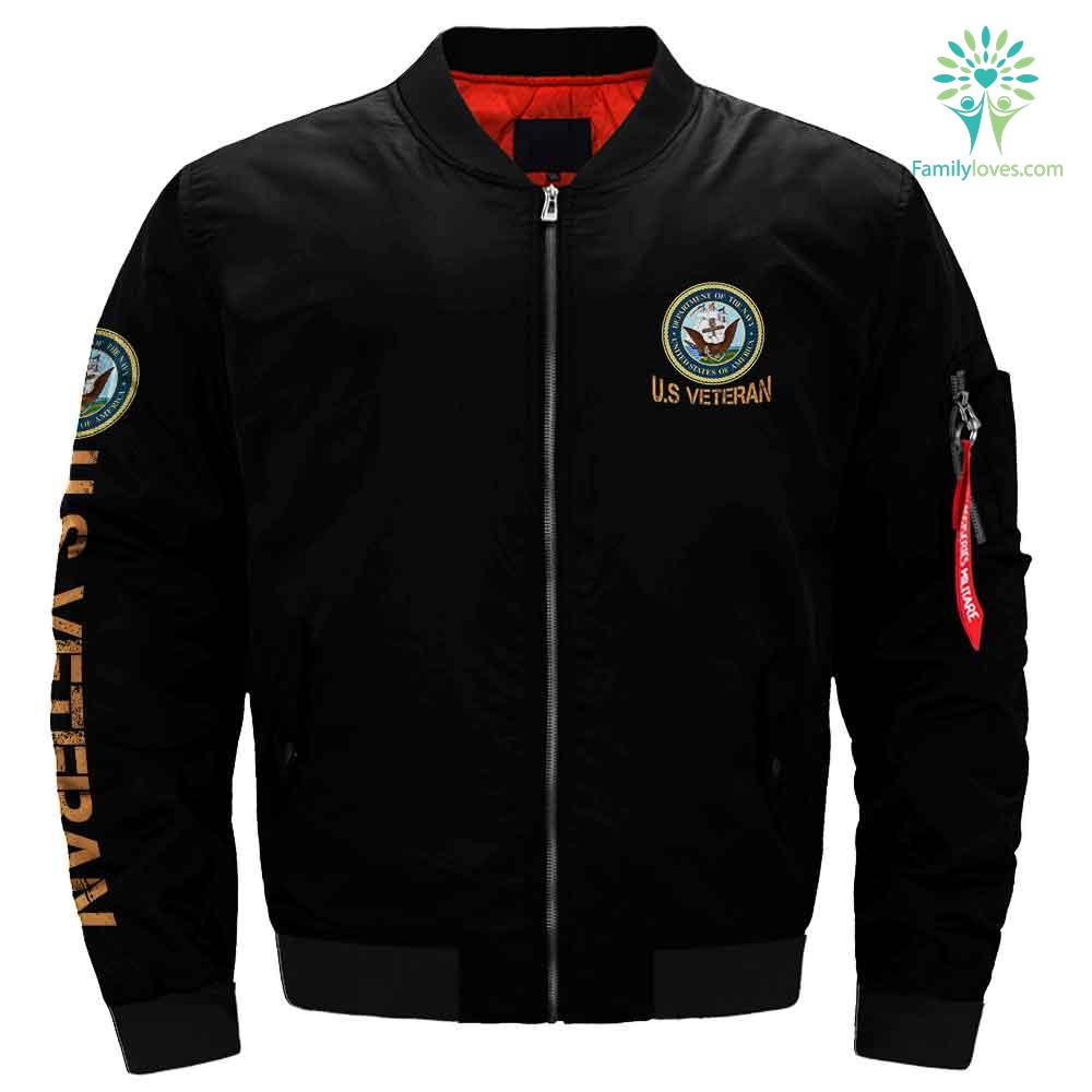 U.S Navy jacket - i was a navy veteran before it was popular to be one Familyloves.com