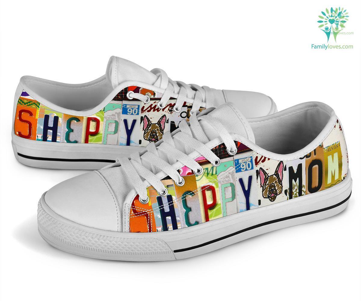 Sheppy Mom Low Top Shoes Familyloves.com