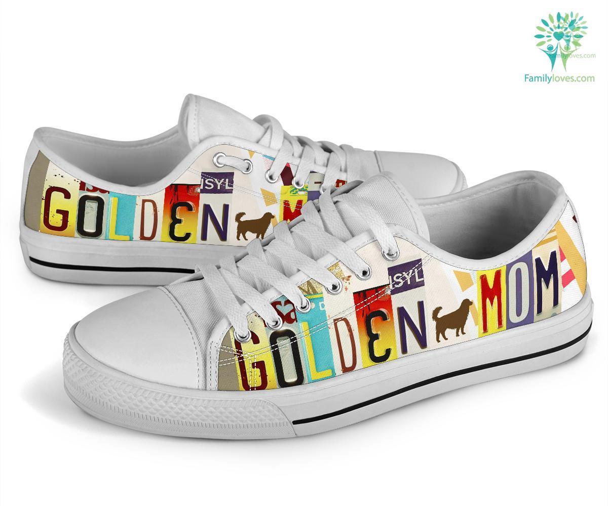 Golden Mom Low Top Shoes Familyloves.com