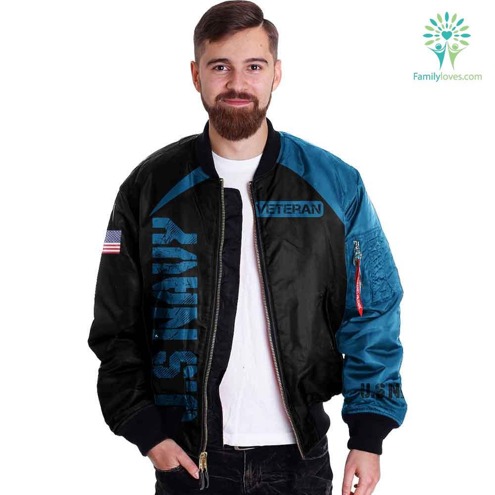 US Navy veteran 3D full print jacket Familyloves.com