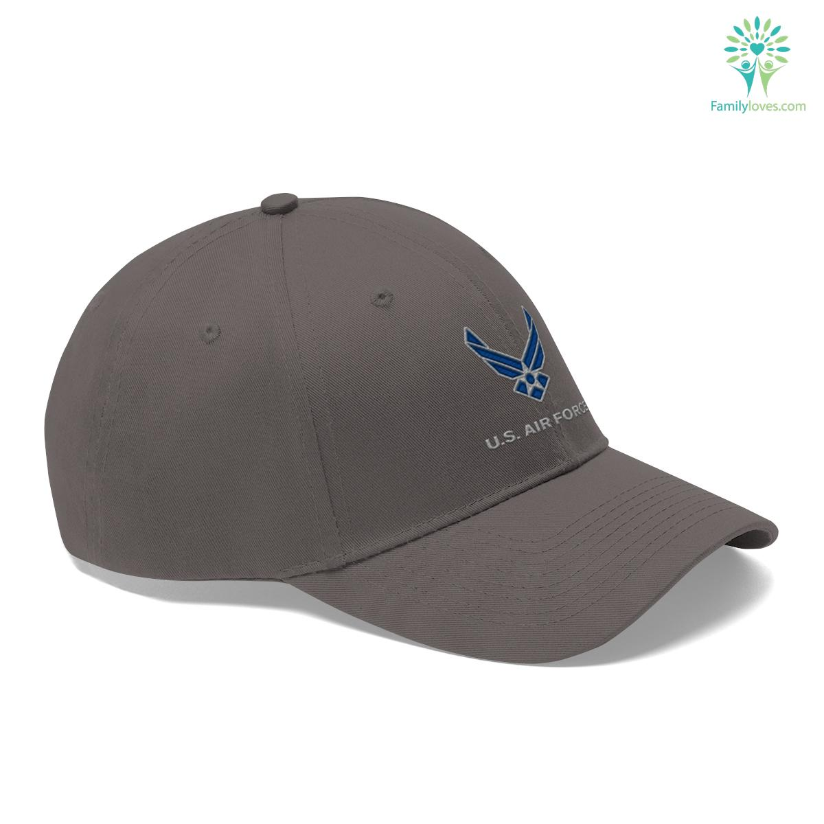 U.S. Air Force Hap Wing MILITARY Embroidery Dad Cap Unisex Twill Hat Familyloves.com