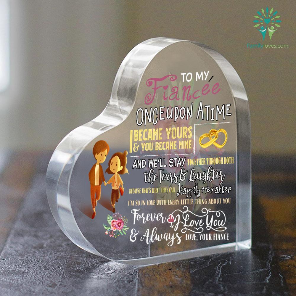 Gift For Fiancee Heart Keepsake Familyloves.com