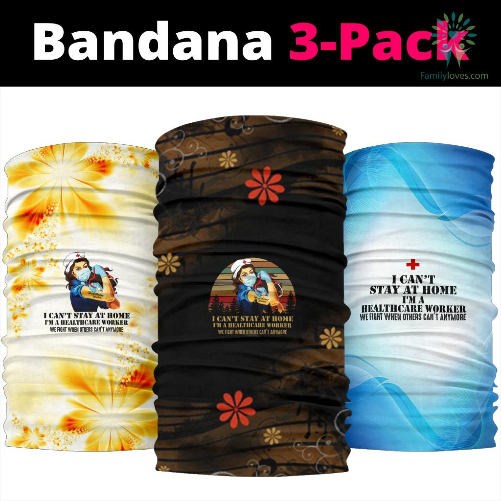 Healthcare Worker Bandana Familyloves.com