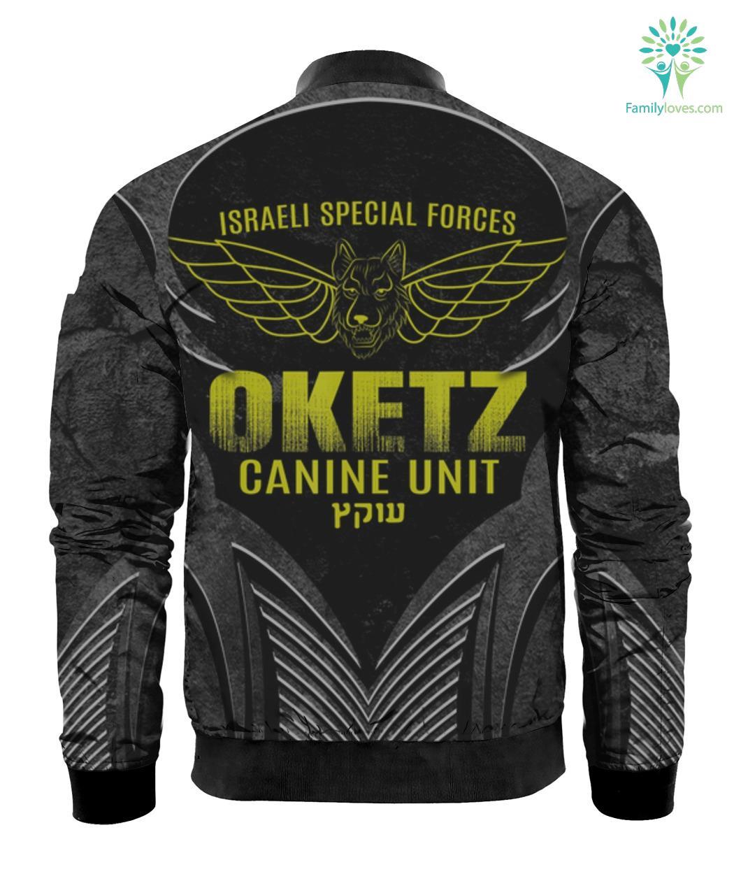 Oketz K9 Unit Tee Israeli Defense Special Forces Israel Army 3D T-shirt Familyloves.com