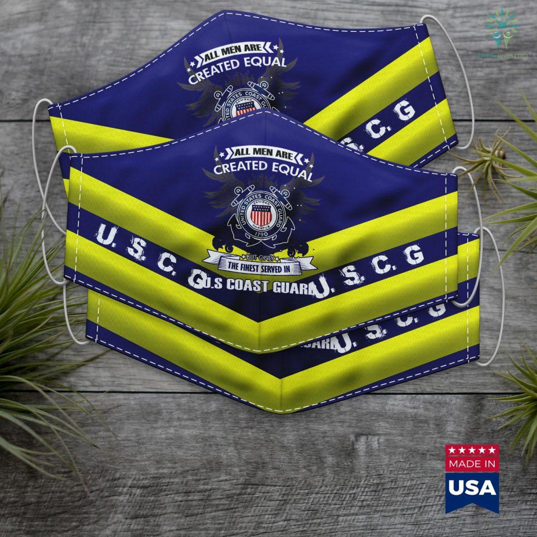 United States Coast Guard Academy U.S Coast Guard Face Mask Gift Familyloves.com