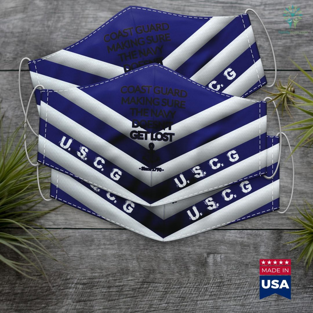 Us Coast Guard Baltimore Funny Coast Guard For Navy Officersailor Naval Unit Face Mask Gift Familyloves.com