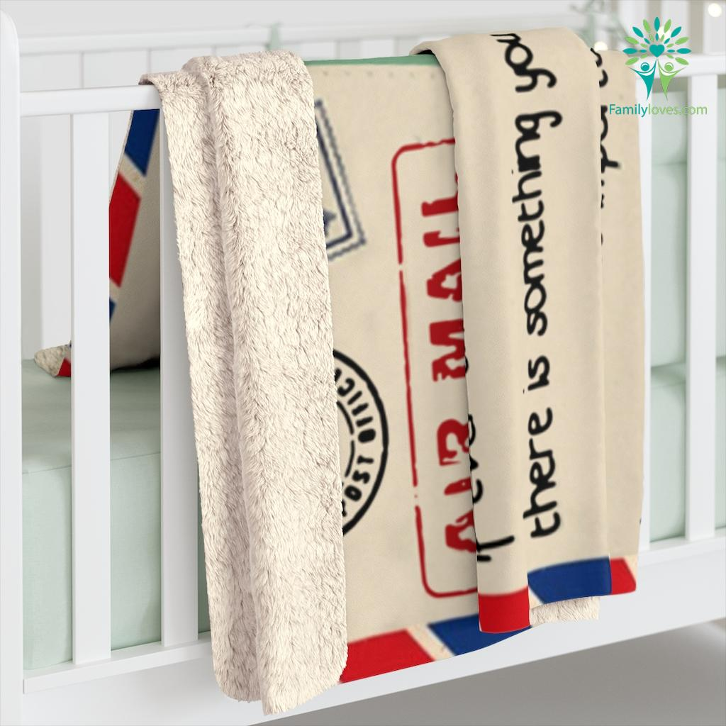 To My Son If Ever There Is Tomorrow When We're Not Together Love Your Dad Sherpa Fleece Blanket Familyloves.com