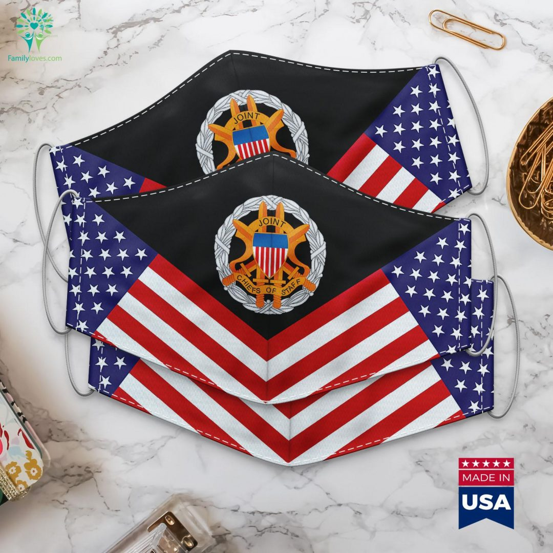 Us Army Joint Chiefs Of Staff Emblem Black Army Logo Cloth Face Mask Gift Familyloves.com