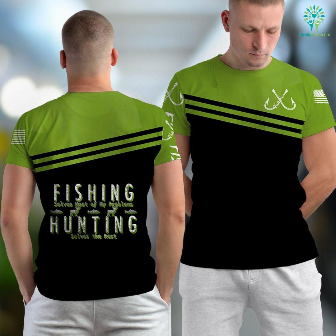 Cozumel Fishing Fishing Hunting Gift Hunt Fishing Unisex T-shirt All Over Print Familyloves.com