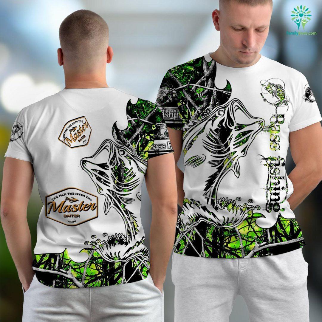 Deep Sea Fishing Charleston Sc Master Baiter Funny Fishing Fishing Unisex T-shirt All Over Print Familyloves.com
