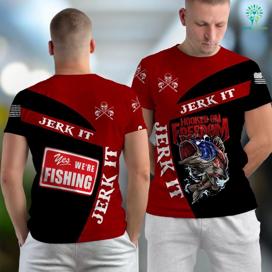 Dream Stream Fishing Report Fishing Saying Fishermans Gift Fishing Unisex T-shirt All Over Print Familyloves.com
