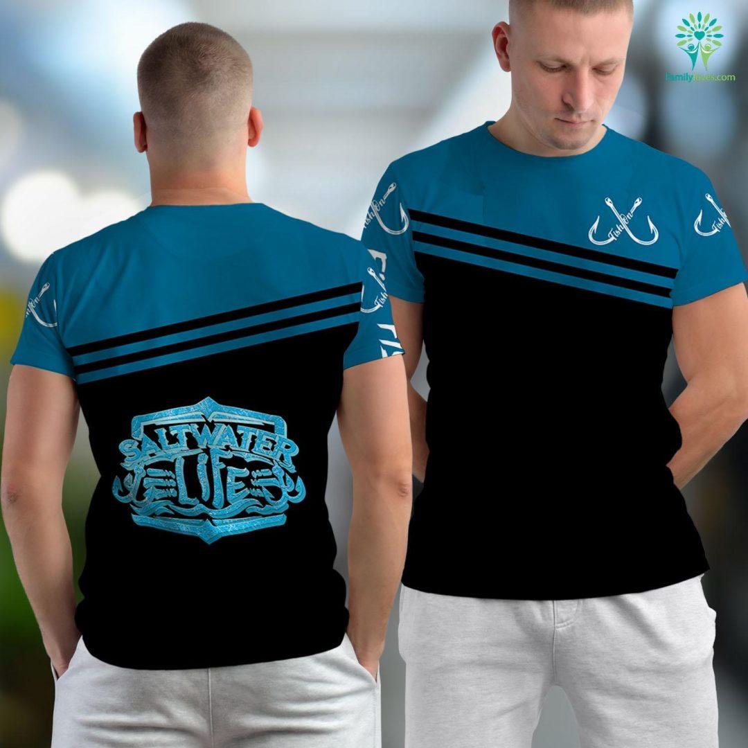 Fishing Galveston Tx Saltwater Life Fishing S Fishing Unisex T-shirt All Over Print Familyloves.com