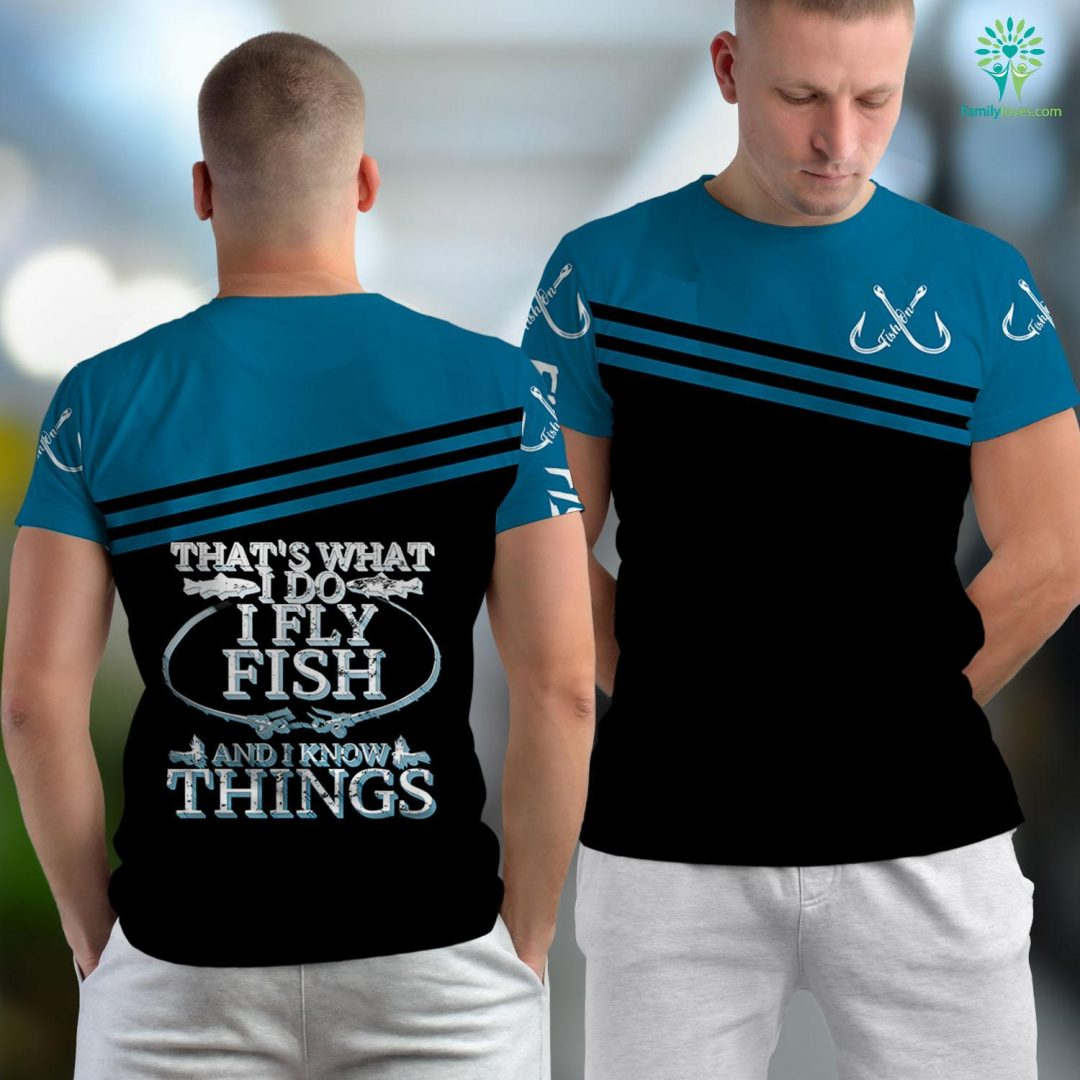 Fly Fishing Arkansas Thats What I Do Fly Fish And Know Things Fishing Angler Fishing Unisex T-shirt All Over Print Familyloves.com