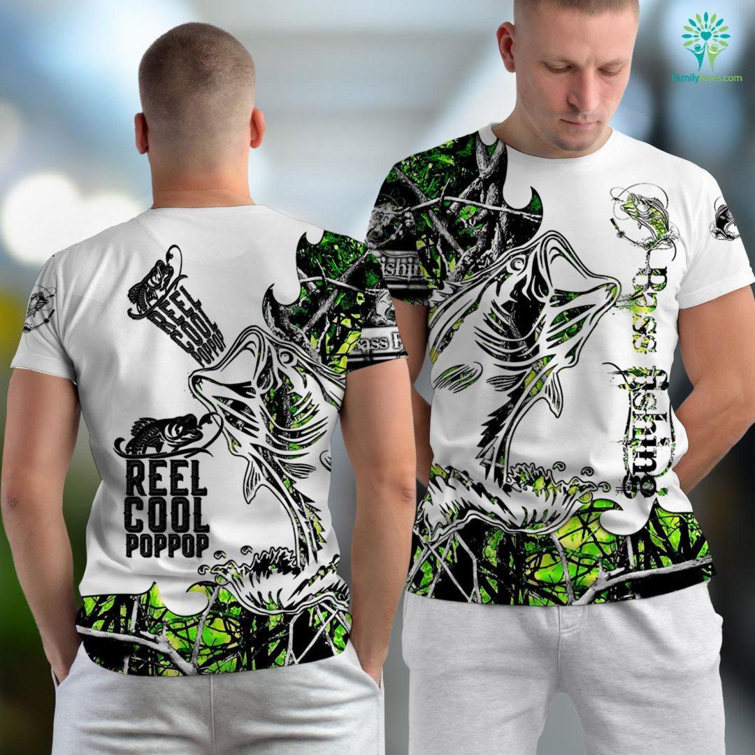 Sarasota Fishing Charters Reel Cool Pop Pop Fishing Gift Funny Christmas Fishing Unisex T-shirt All Over Print Familyloves.com