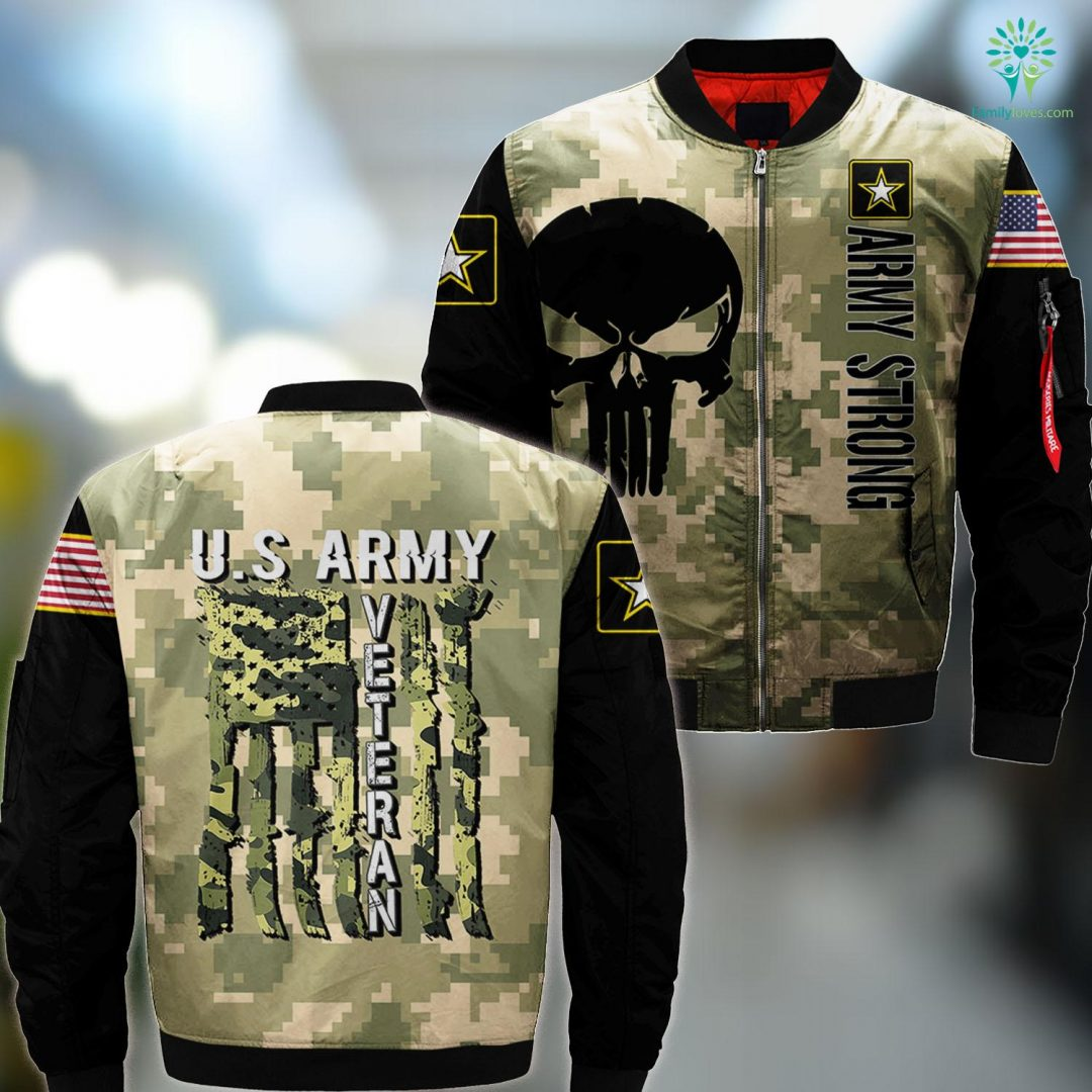 Us Army Vehicles U.S Army Veteran Tee Great Usa Camouflage Mens Womens Gift MA1 Bomber Jacket All Over Print Familyloves.com