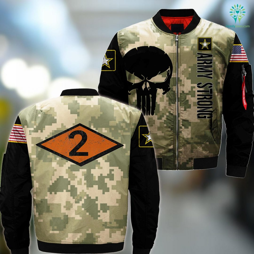 Where Is Army Basic Training Vintage Second 2Nd Ranger Battalion Diamond Army Ranger MA1 Bomber Jacket All Over Print Familyloves.com