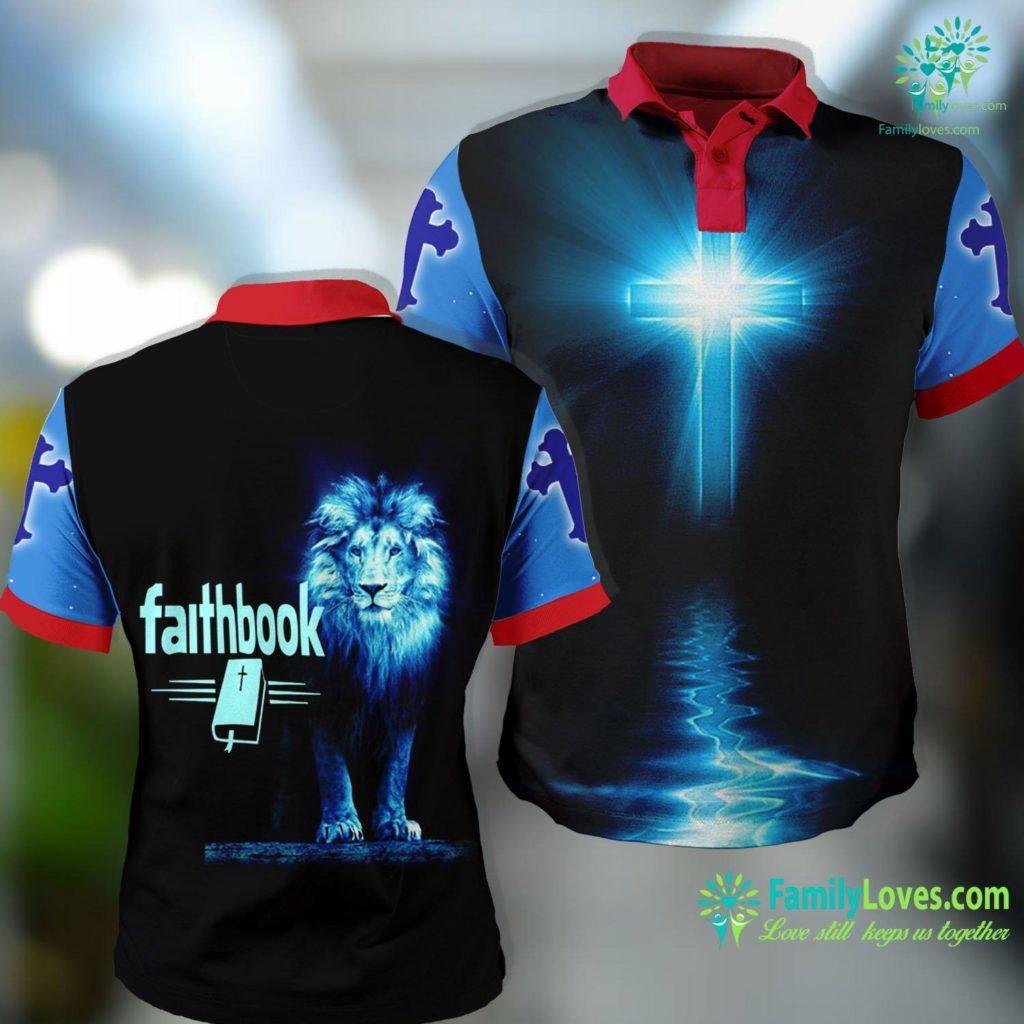 Banning Liebscher Bible Faith Book Jesus Christian Christmas Gift Jesus Polo Shirt All Over Print Familyloves.com