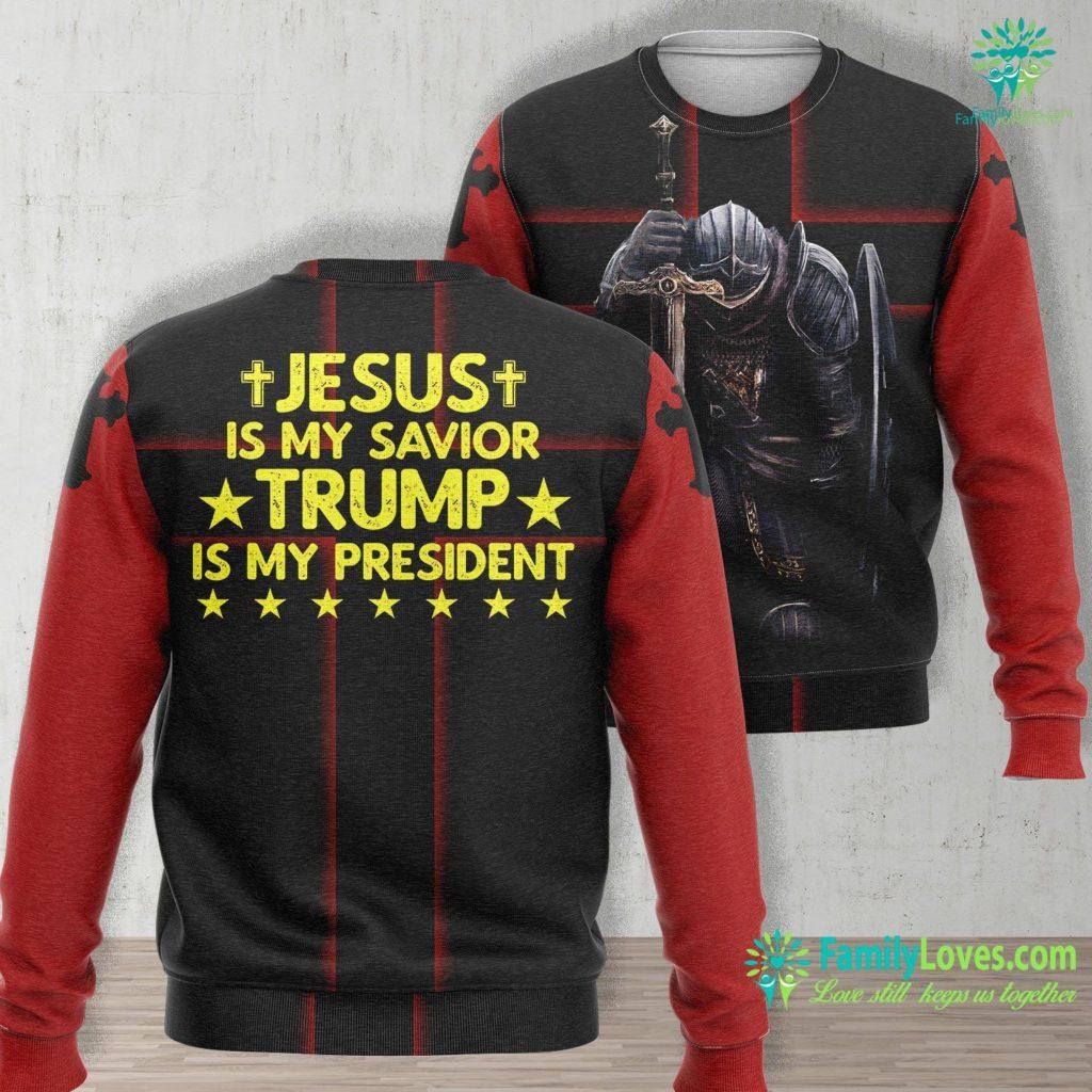 Bible Verses About The Birth Of Jesus Kjv Jesus Is My Savior Trump Is My President 2020 Election Vote Jesus Unisex Long Sleeve Sweatshirt All Over Print Familyloves.com