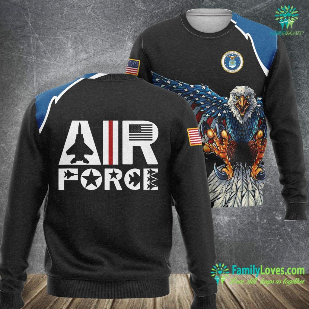 Davis-Monthan Air Force Base Air Force With F15 Jet Air Force Sweatshirt All Over Print Familyloves.com