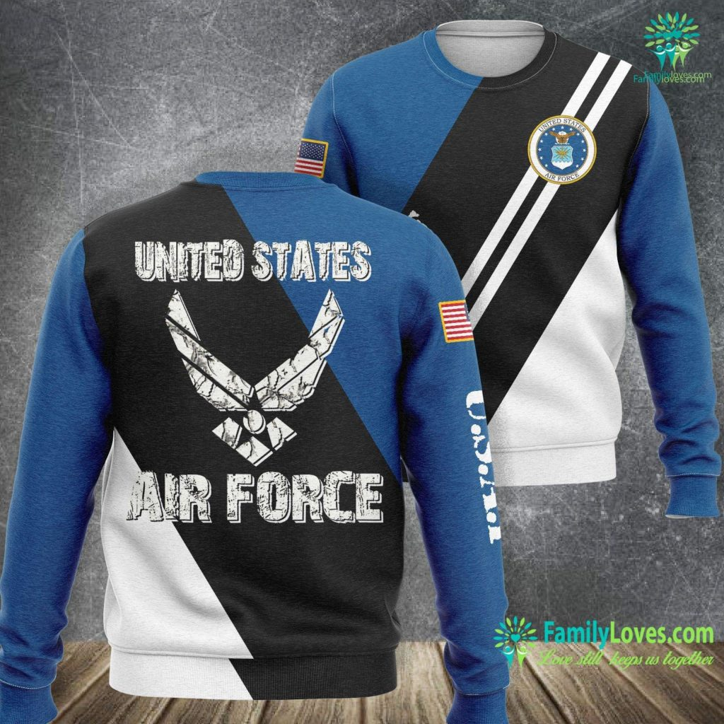 Eglin Air Force Base Hospital United States Air Force Original Air Force Sweatshirt All Over Print Familyloves.com