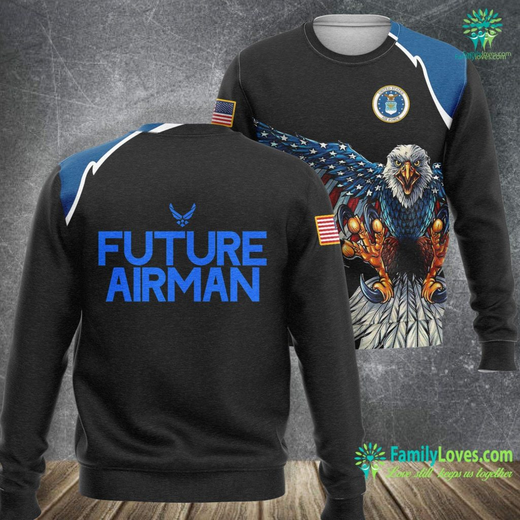 Goodfellow Air Force Base Air Force Future Airman For Men Women Kids Students Gift Air Force Sweatshirt All Over Print Familyloves.com