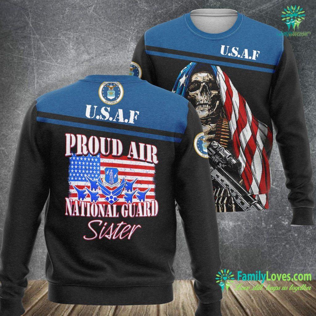 Hill Air Force Base Housing Proud Air National Guard Sister Usa Air Force Women Air Force Sweatshirt All Over Print Familyloves.com