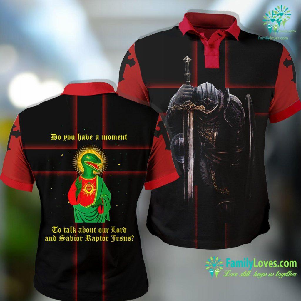 Infant Jesus Talk About Our Savior Raptor Jesus Jesus Polo Shirt All Over Print Familyloves.com