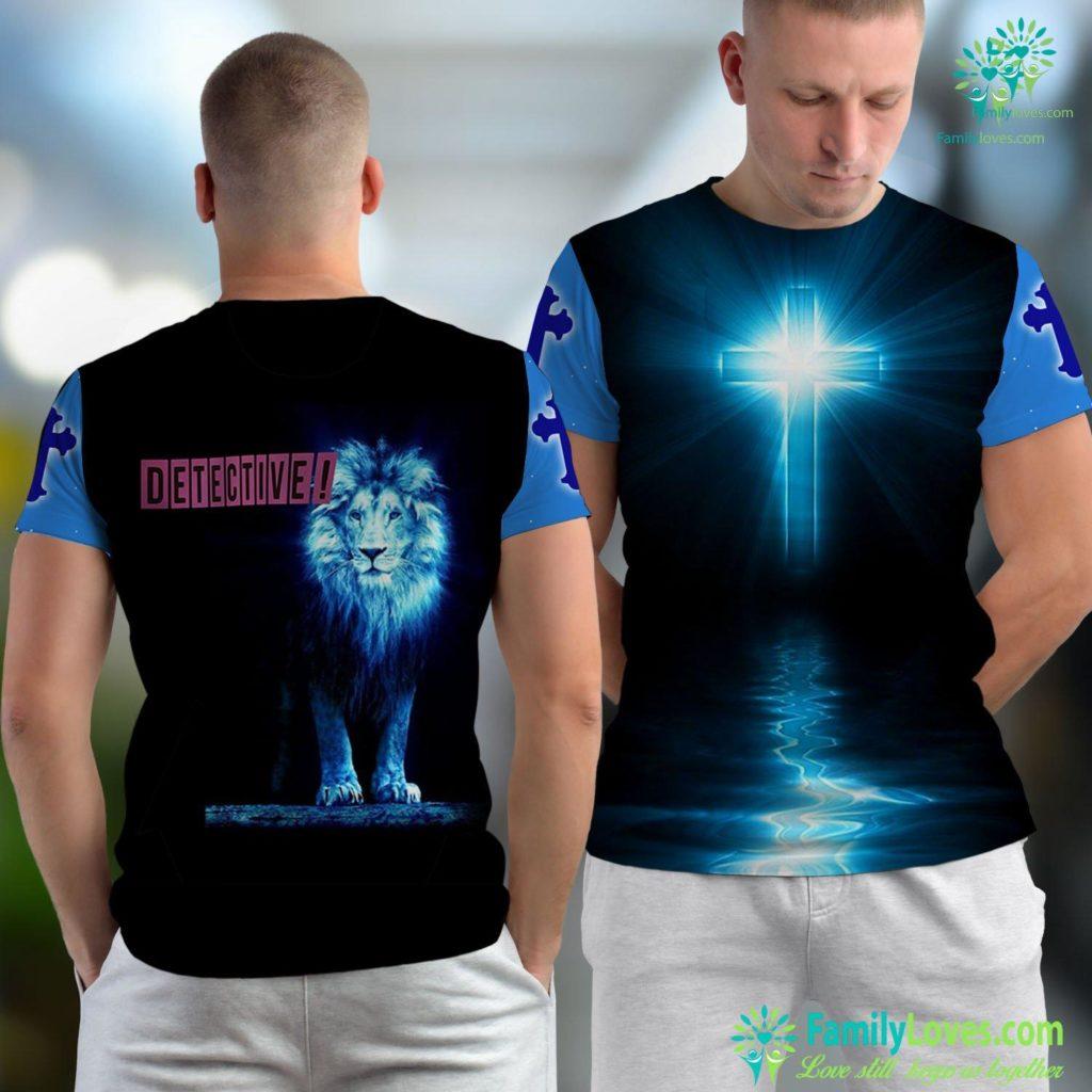Jesus In Hebrew Detective Of Jesus Or Lucifer. Vintage Morningstar Gift Tee Jesus Unisex T-shirt All Over Print Familyloves.com