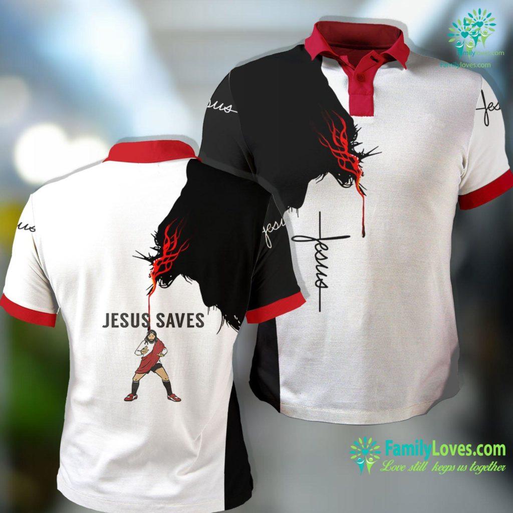 Jesus Verses Jesus Christ Trucker Jesus Polo Shirt All Over Print Familyloves.com