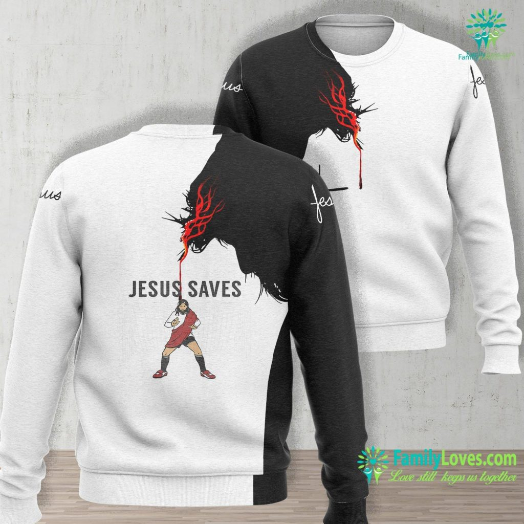 Jesus Verses Jesus Christ Trucker Jesus Unisex Long Sleeve Sweatshirt All Over Print Familyloves.com