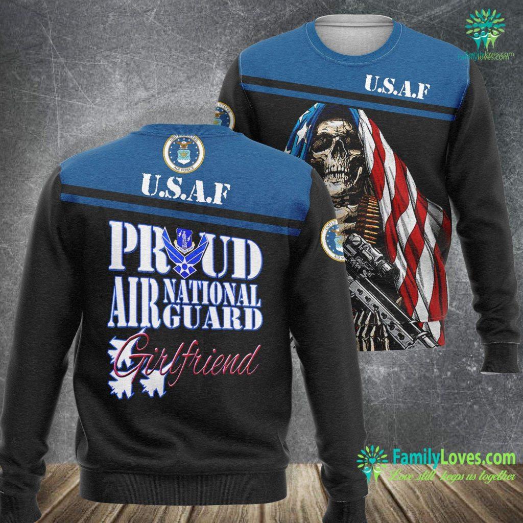 March Air Force Base Jobs Proud Air National Guard Girlfriend Air Force Military Air Force Sweatshirt All Over Print Familyloves.com