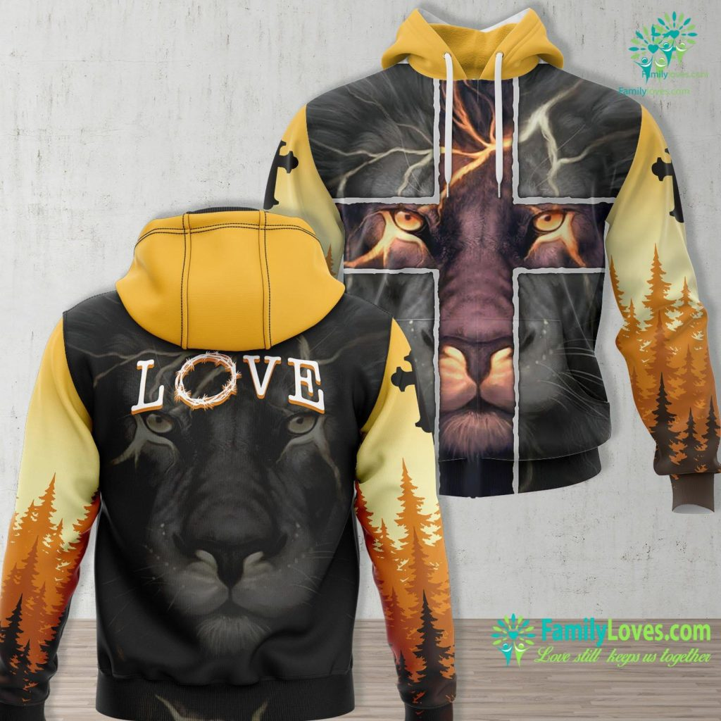 Mary And Martha Bible Women Girl Easter Love With Crown Of Thorns Jesus Jesus Unisex Hoodie All Over Print Familyloves.com