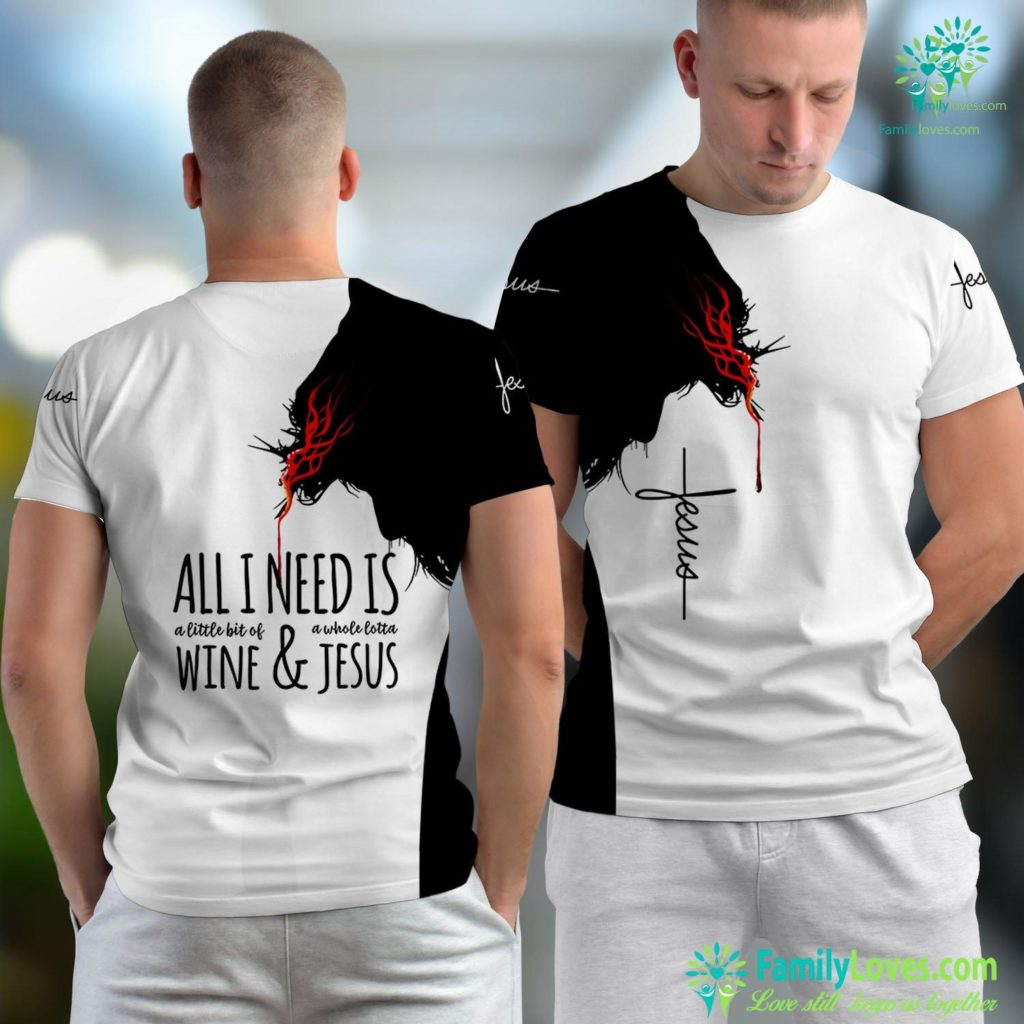 My Kingdom Is Not Of This World Funny Workout Gym Reps For Jesus Jesus Unisex T-shirt All Over Print Familyloves.com