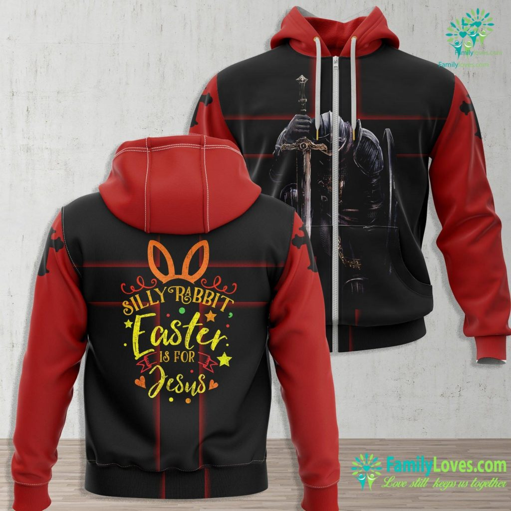 Nicodemus And Jesus Silly Rabbit Easter Is For Jesus Novelty Gift Costume Jesus Zip-up Hoodie All Over Print Familyloves.com