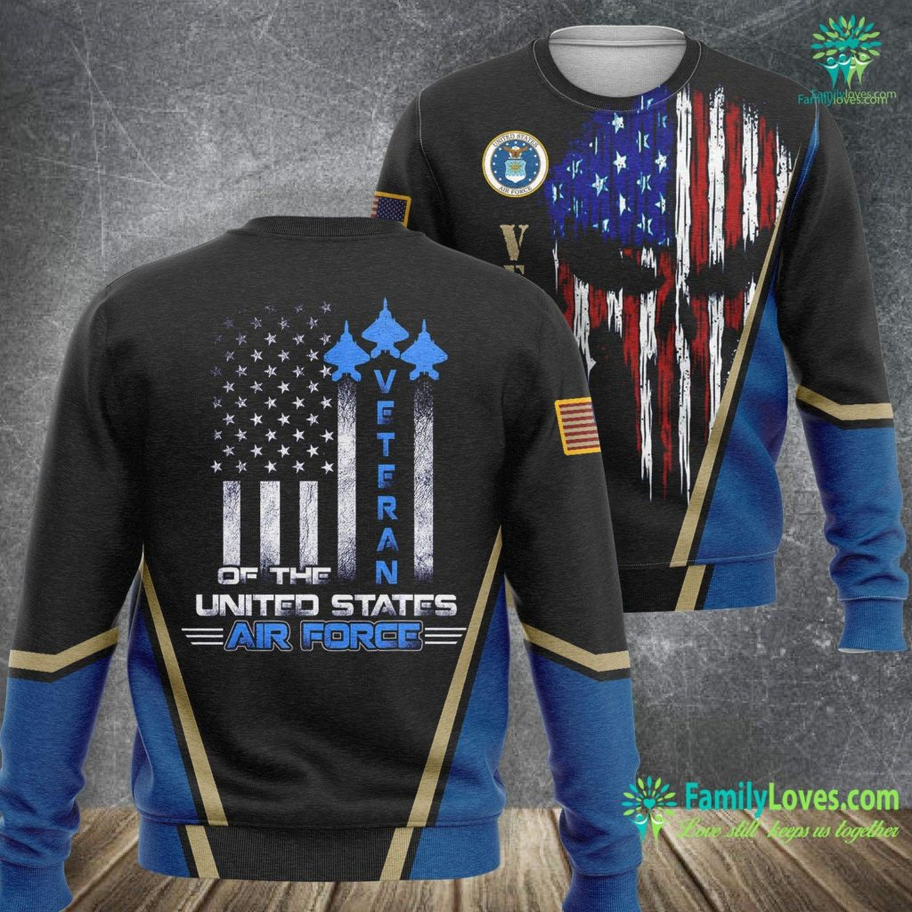 Pics Of Air Force One Veteran Of The United States Us Air Force Usaf Air Force Sweatshirt All Over Print Familyloves.com