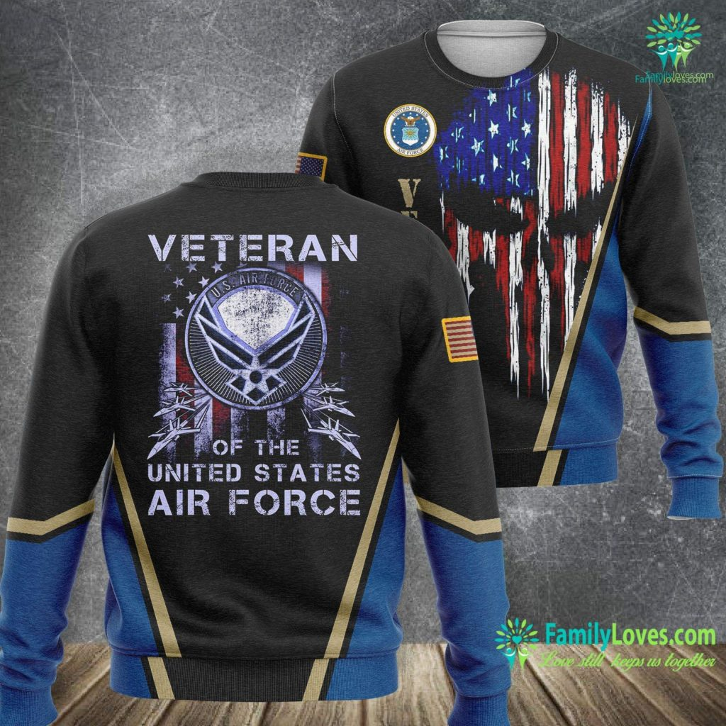 South Carolina Air Force Base Veteran Of The U S Air Force Vintage Air Force Sweatshirt All Over Print Familyloves.com