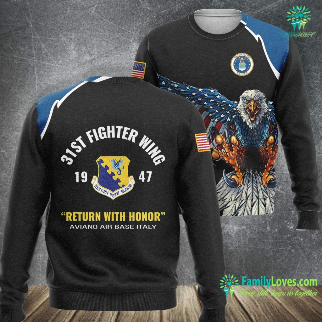 Special Operations Air Force Air Force 31St Fighter Wing Air Force Sweatshirt All Over Print Familyloves.com