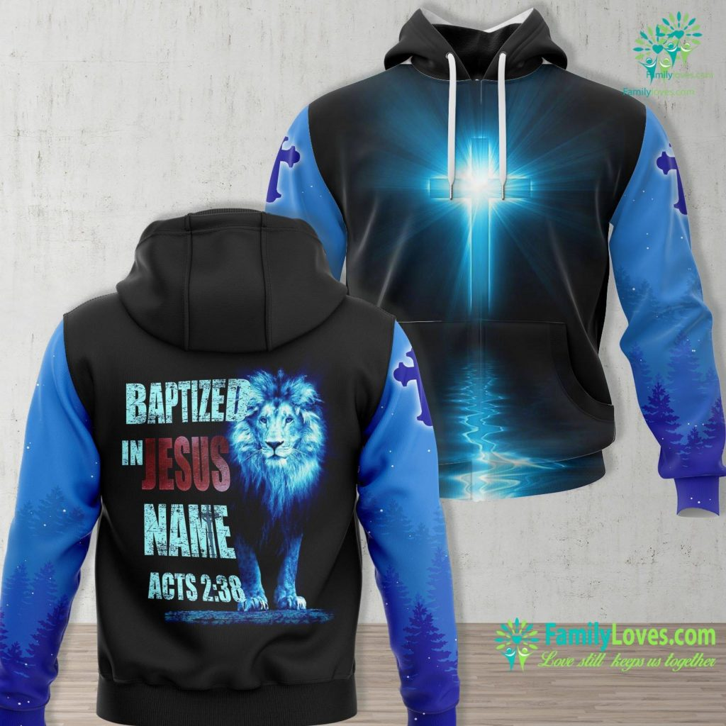 The Garden Of Gethsemane Baptized In Jesus Name Acts 238 Baptism Jesus Only Jesus Unisex Hoodie All Over Print Familyloves.com