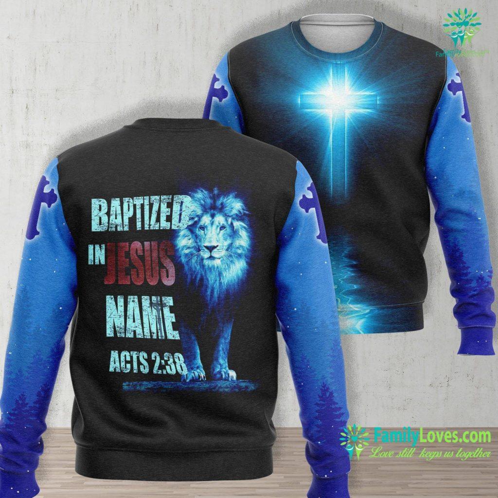 The Garden Of Gethsemane Baptized In Jesus Name Acts 238 Baptism Jesus Only Jesus Unisex Long Sleeve Sweatshirt All Over Print Familyloves.com