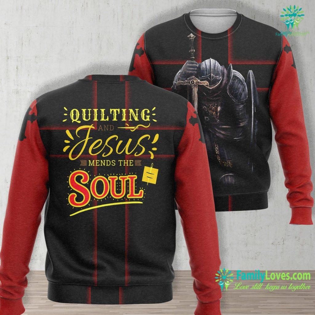 The Jesus Film Quilting Jesus Needle Christian Christ God Result Jesus Unisex Long Sleeve Sweatshirt All Over Print Familyloves.com