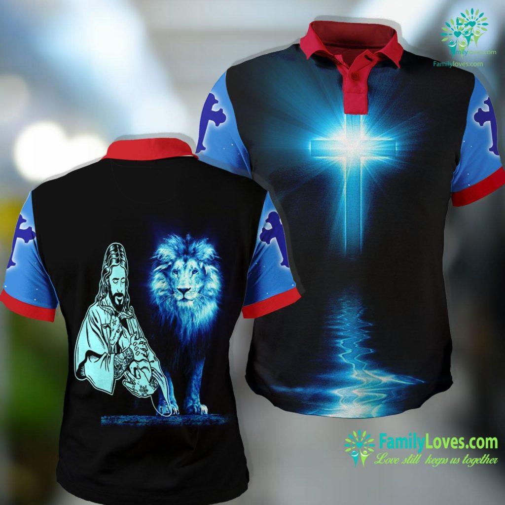 The Passion Of The Christ Blackcraft Jesus Loves Satan Baphomet Goat Atheist Jesus Polo Shirt All Over Print Familyloves.com