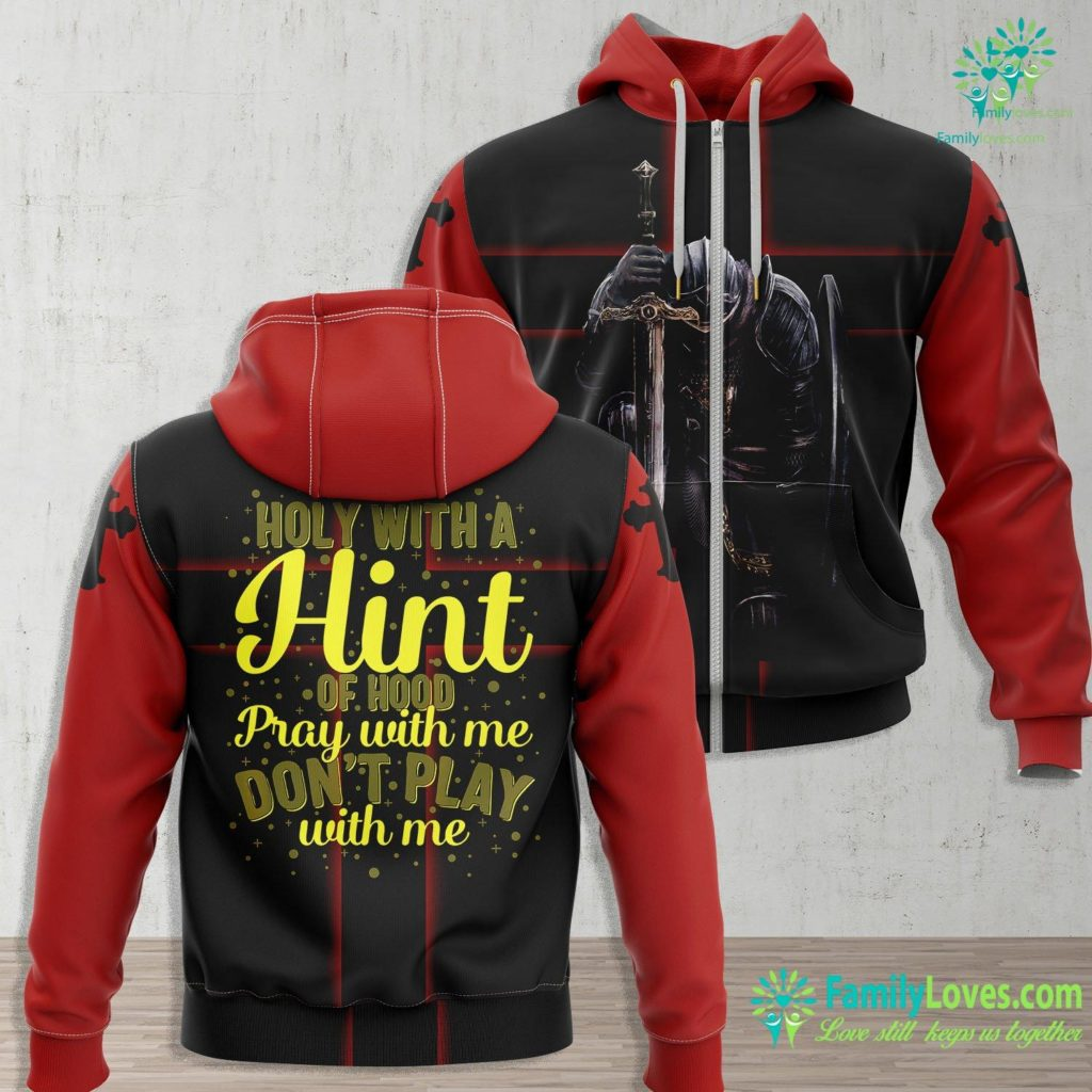 The Way The Truth And The Life Holy Hood Pray Amen Love Christian Christianity Jesus Church Jesus Zip-up Hoodie All Over Print Familyloves.com
