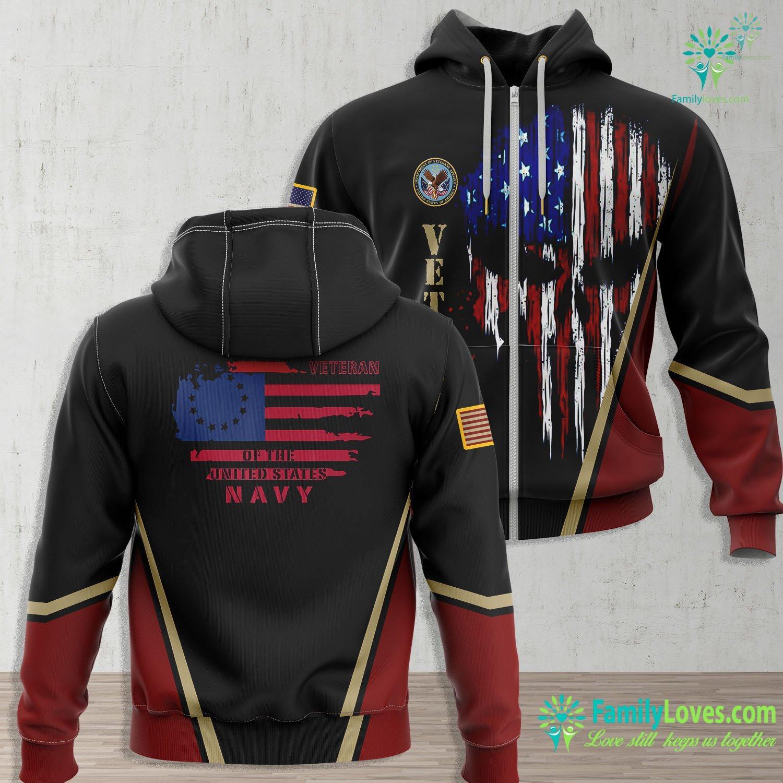 Us Navy Squadrons Us Navy Veteran Us Veterans Day Navy Zip-up Hoodie All Over Print Familyloves.com
