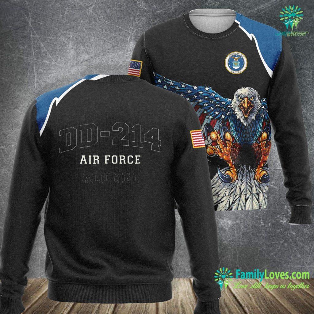 Whiteman Air Force Base Dd 214 Us Air Force Alumni Air Force Sweatshirt All Over Print Familyloves.com