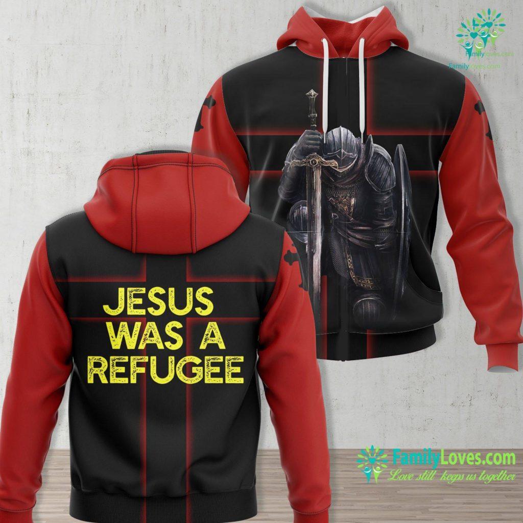 You Need Jesus Jesus Was A Refugee Pro Immigrant Meme Anti Trump Resist Jesus Unisex Hoodie All Over Print Familyloves.com