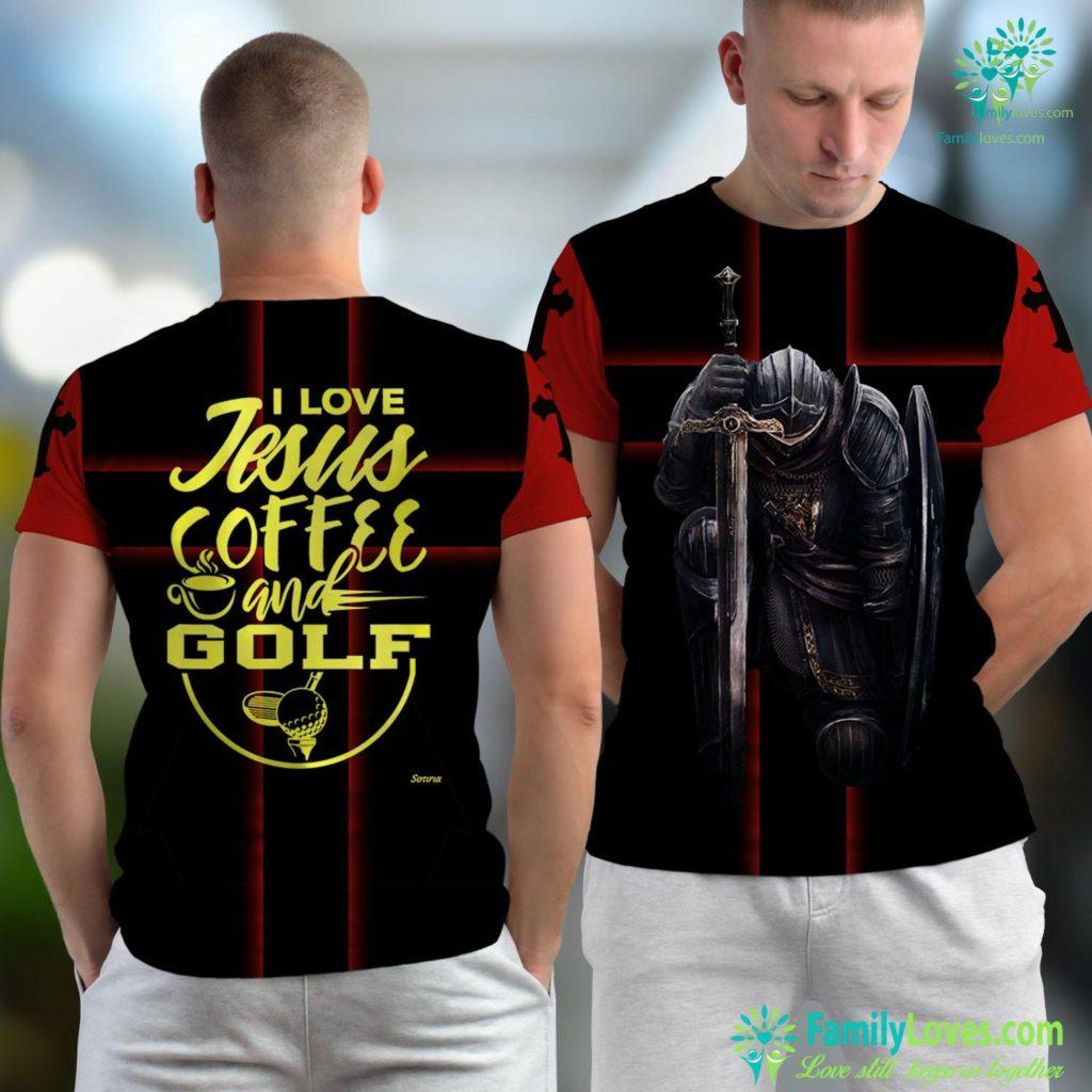 Zacchaeus In The Bible I Love Jesus Coffee Amp Golf Fun Christian Faith Bible Jesus Unisex T-shirt All Over Print Familyloves.com