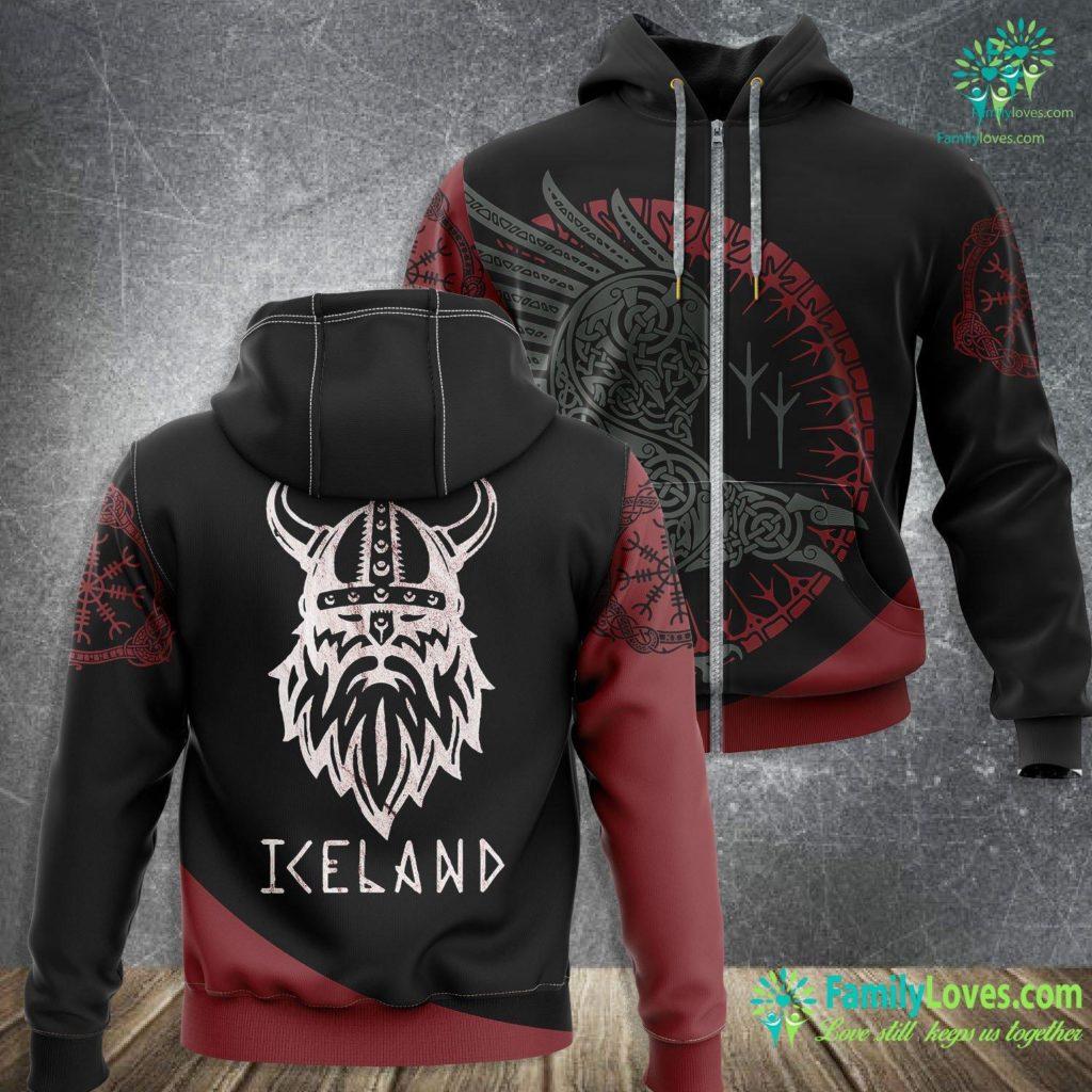 Thor Vikings Viking Of Iceland Viking Zip-up Hoodie All Over Print Familyloves.com