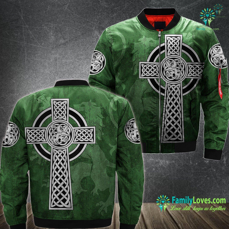 St. Patrick'S Day 3D All Over Printed Bomber Jacket Familyloves.com